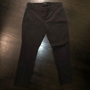 THEORY pants with zipper detail on ankle. Size 12.